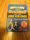 K MART COMPLETE COLLECTOR'S HOME RUN KINGS 1982 STATS 34 CARDS