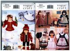 VOGUE 9579  9641 PATTERNS Doll Dress Coats Clothes Fits 18 American Girl