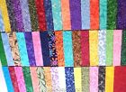 200 25 Fabric Squares Quilting Charm Pack Pre Cut 100 Cotton Patchwork Blocks