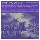 JARED REED - STEPHEN CRANE: FROM RED BADGE OF COURAGE USED - VERY GOOD CD
