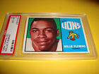 1964 topps CFL #1 Willie FLEMING psa 6 BC Lions (614)