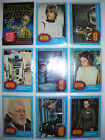 1977 STAR WARS (1ST SERIES) COMPLETE CARD & STICKER SET TOPPS *NMMT*