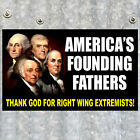 THANK GOD FOR RIGHT WING EXTREMISTS anti Obama DECAL gun rights Tea Party NRA