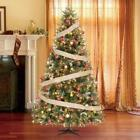 7.5 ft. Andes Fir Quick-Set Artificial Christmas Tree with 750 Clear Lights