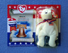 5 INCH TY LIBERTY THE BEAR MCDONALD PROMOTIONAL TOY TY BEANIE BABY