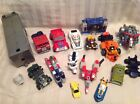 Vintage Transformers Figures Parts  Pieces Lot for Repair or Custom G1 S16