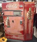 Vintage Coca-Cola Vending Machine 1950S Vendo 83 Pop Bottles 50s Fifties Runs