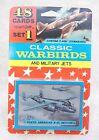Aircraft Aviation Trading Cards CLASSIC WARBIRDS & MILITARY JETS Set 1 (0505-11)