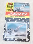 Military Aircraft Aviation Trading Cards JETS & CLASSIC WARBIRDS Set 2 (0505-2)