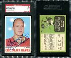 1970-71 TOPPS #15 BOBBY HULL SGC AUTHENTIC AU804219 HOF SIGNED AUTO CARD