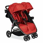 Combi 2016 Fold N Go Double Stroller in Salsa Brand New!! Free Shipping!!