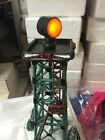 Hawthorne Village lighted Aircraft Beacon tower NIB Holiday train collection