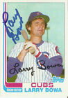 Larry Bowa Autographed 1982 Topps Traded Card 10T