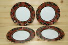 Fitz & Floyd Kuruma 61- Lot of (4) Dessert or Bread & Butter Plates, 6 5/8