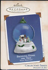 2002 Hallmark Bringing Home the Tree Winter Wonderland Series Ornament NIB NEW