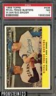 1958 Topps Rival Fence Busters #436 Willie Mays Duke Snider PSA 7 NM