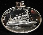 2005 RMS Titanic-Expedition 2000-Republic of Liberia-$10-Sterling Coin Pendant