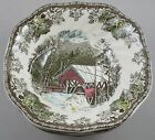 FOUR Johnson Brothers Friendly Village England Square Bowls