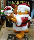 Display item Garfield &  Pooky Christmas Santas Claus Collectible Figure- PAWS