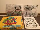 Vintage Shrinky Dinks INCREDIBLE HULK  AMAZING SPIDER MAN Not Complete