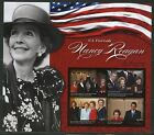 PALAU NEVER BEFORE OFFERED RARE TRIBUTE TO NANCY REAGAN SHEET  I   IMPERF