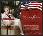 PALAU NEVER BEFORE OFFERED RARE TRIBUTE TO NANCY REAGAN SOUVENIR SHT I   IMPERF