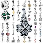 Charms Beads Pendant For 925 Sterling Silver European Bracelet Necklace