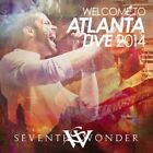 SEVENTH WONDER - WELCOME TO ATLANTA [LIVE 2014] NEW CD