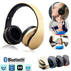 Stereo Wireless Blutooth Headset Audio Earphone Headphone For iPhone For Samsung