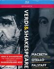 Opus Arte Verdi Shakespeare Blu-ray Macbeth Otello Falstaff Glyndebourne