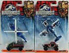 Matchbox Jurassic World Dei-cast 2 Pack Helicopter Maule Hauler Truck Car New