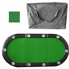 Green 84 10 Player Tri Fold Folding Poker Table Top Speed Cloth