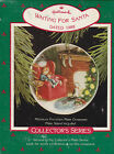 1988 Hallmark Waiting for Santa Collector's Plate Series Ornament Dated NIB NEW