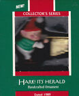 1989 Hallmark Hark It's Herald Series Ornament Dated NIB NEW
