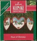 1991 Hallmark Heart Of Christmas Handcrafted Ornament 2nd in Series NIB NEW IN