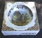 Myott Thanksgiving Turkey 4 multi colored cereal bowls with original box