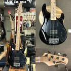 New Ernie Ball Music Man StingRay 5H 5-String Electric Bass w/ Case