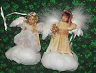 2 - BRADFORD EDITIONS  HEAVEN SCENT ANGEL ORNAMENTS COLLECTION