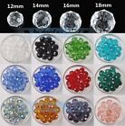 Wholesale Big Crystal Glass Rondelle Faceted Loose Spacer Beads 12 14 16 18mm