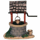 Lemax Decoration Water Wishing Well,New Christmas Cake Decorating Village Figure