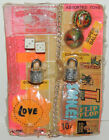 Vintage 10c Fortune Teller Super Balls Stickers Locks VENDING MACHINE DISPLAY