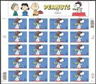 Peanuts Snoopy Full Sheet of Twenty 32 Cent Stamps Scott 3507 By USPS