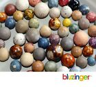 Antique Assorted Clay & Bennington Marble Collection Lot  (61 Marbles)