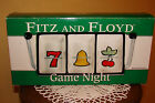Fitz and Floyd Game Night Decorative Section Server One Arm Bandit Lucky Tray