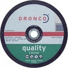 Dronco Cutting disc for stone straight 230 x 2,5 22,2 mm Flex Separate New