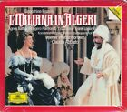 Gioacchino Rossini L'Italiana in Algeri CD NEW Claudio Abbado Agnes Baltsa Dara