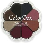 ColorBox Fluid Chalk Petal Point Option Inkpad 8 Colors Nightfall Clearsnap
