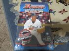 2004 BOWMAN DRAFT BASEBALL Factory SEALED BOX 2 CHROME 1 GOLD in Each Pack!