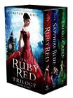 The Ruby Red Trilogy Boxed Set by Kerstin Gier English Paperback Book