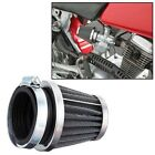 Motorcycle Air Intake Filter High Flow Tapered Cleaner Carburetor Refit 52mm 2PC